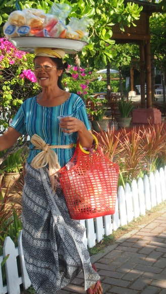 Lady in Sanur