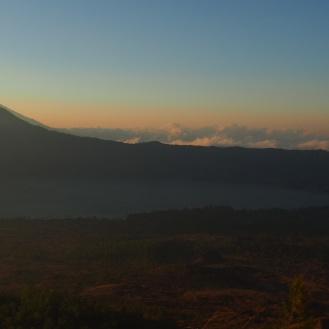 Gunung Agung from Batur