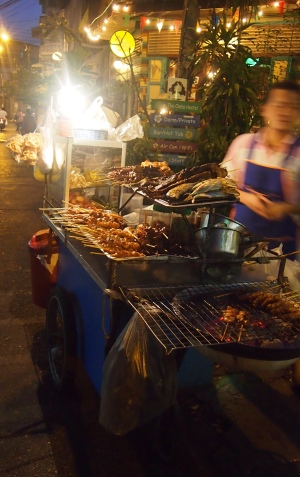 These street vendors were the best! Jono and I went looking for this guy each day in Bangkok but we didn't find him again